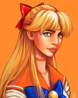Sailor Venus by oOCherry-chanOo