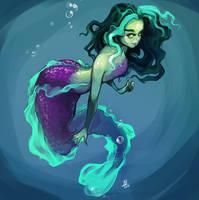 Mermaid by oOCherry-chanOo