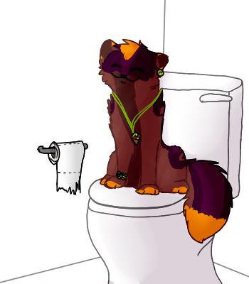 Layi sitzt den lieben langen Tag auf der Toilette by MissLayira