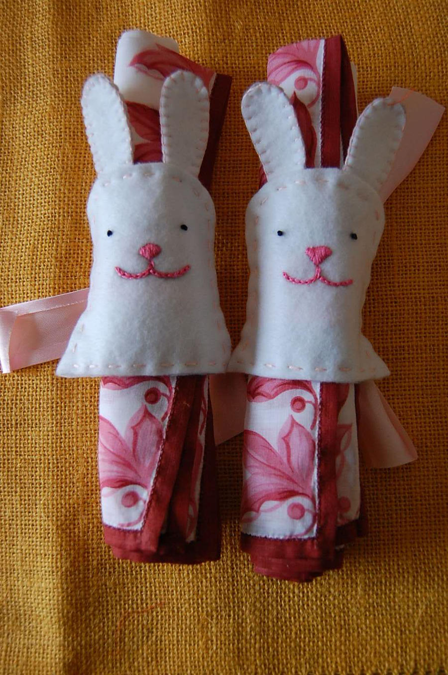 Easter Napkin by punainen-tahti