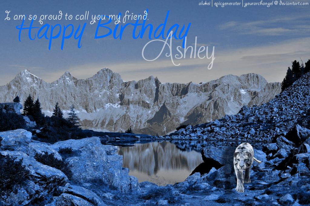 Birthday Present for a Dear Friend. c: by YourArchAngel