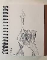 Torchbearer by JoeCrow9