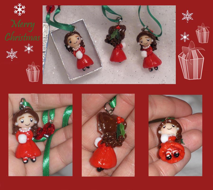 Polymer Clay Christmas Charms.Polymer Clay Christmas Charms By Lisas Art Endeavors On
