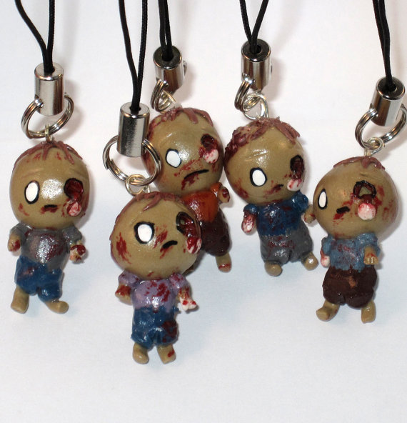 Zombie Charms by Lisas-Art-Endeavors