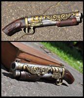 Steampirate Sidearm by omgitsbrekken