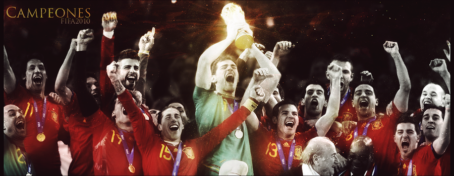 Spain FIFA World Cup 2010. by 2011