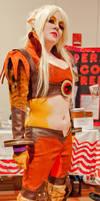 Cheetara from the new Thundercats