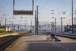 Love at Train Station