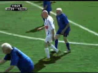 Football head butt by keyurrules