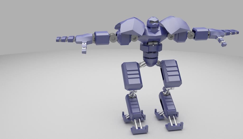 Robot by Alimayo Arango by alimayo
