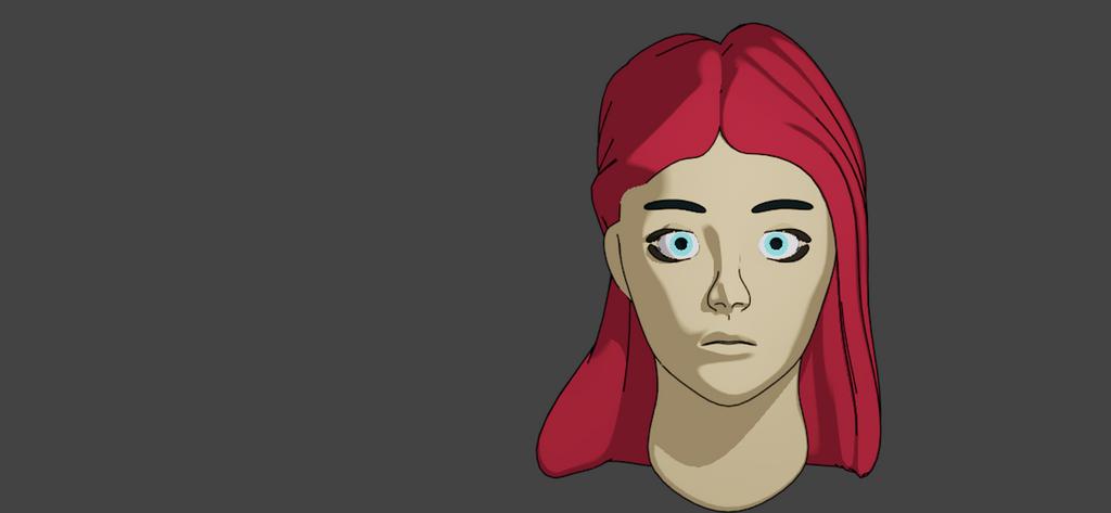 3D Freestyle face by Alimayo Arango by alimayo