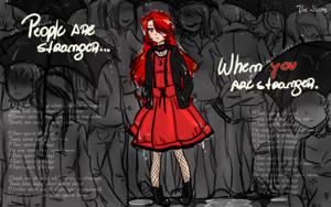 People Are Strange by OoMizukyoO