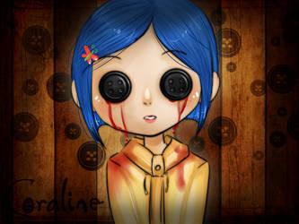 Coraline by OoMizukyoO