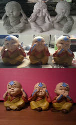 Aang Chibi by AureliaWolflady