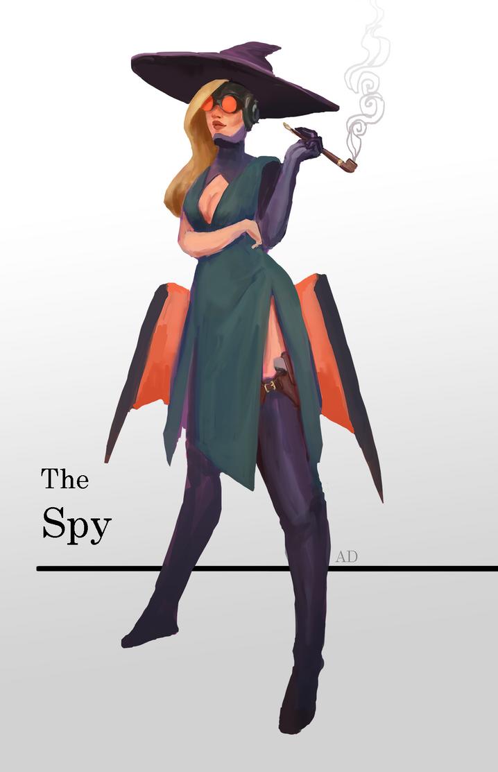 Sky pirate witch by ACicco