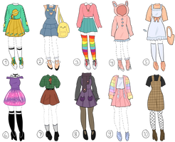 Outfit Adopt Bach | Set Price | OPEN 9/10