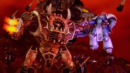 Hellbrute Black Legion