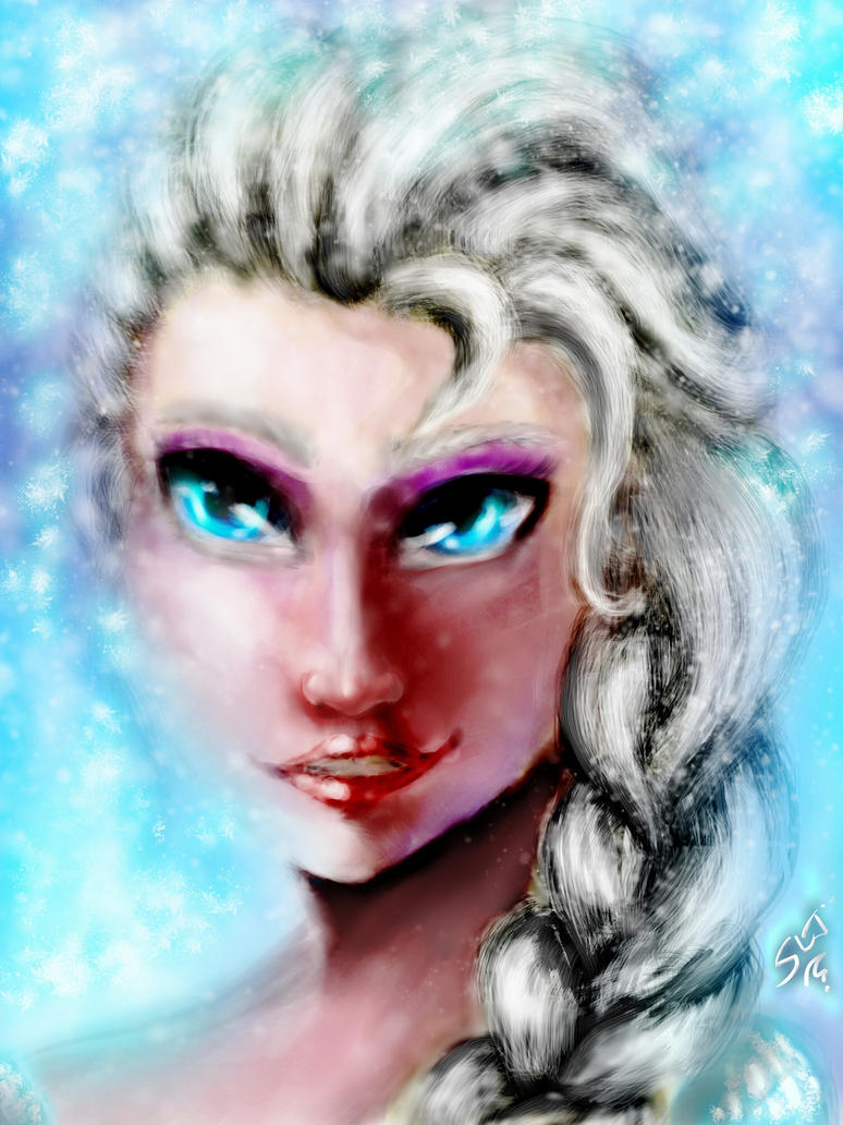 Elsa Frozen let it go by gossj10