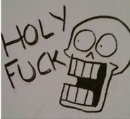 When you see a Mary Sue Undertale fanfic by Void-P