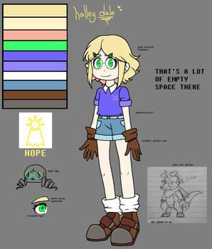 Digimon OC - Halley Dale