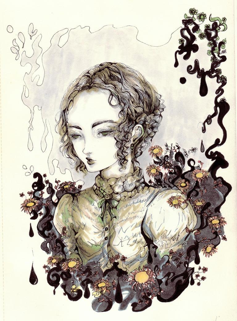 Mujer Antigua/color by Sadapyon