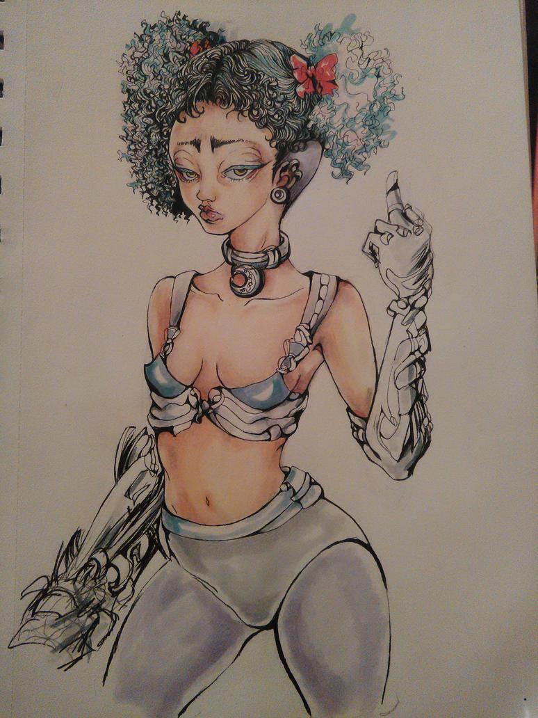 ciber punk lolita by Sadapyon