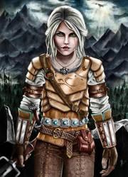 Ciri Armour Idea - Colourized by Jooleya