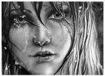 Lady of the Lake - Ciri - Pencil Portrait