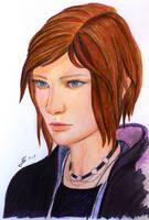 Chloe Price - LiS - Portrait by Jooleya