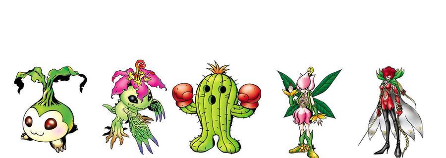 Digimon Adventure RX - Palmon by BigBDawg001 on DeviantArt