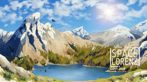 COMM - snowy mountains