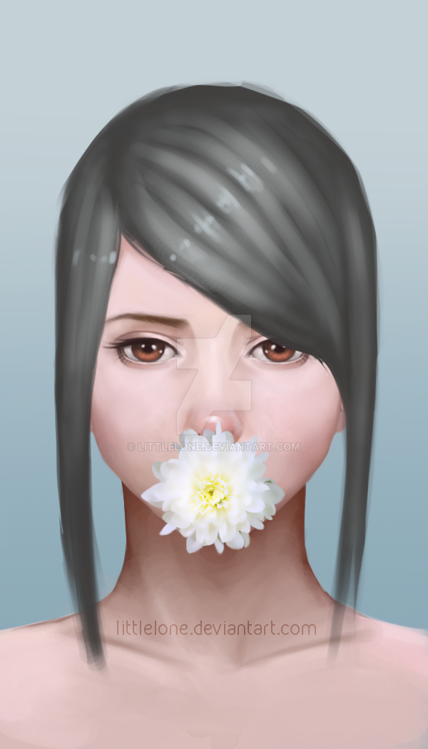 Flower Girl by LittleLone