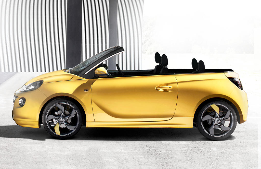 opel adam cabriolet by antoine51 on deviantart. Black Bedroom Furniture Sets. Home Design Ideas