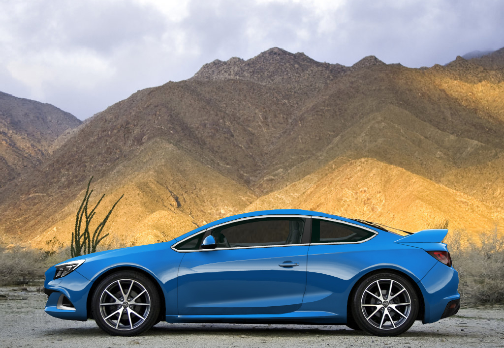 Opel Calibra (2014) by...