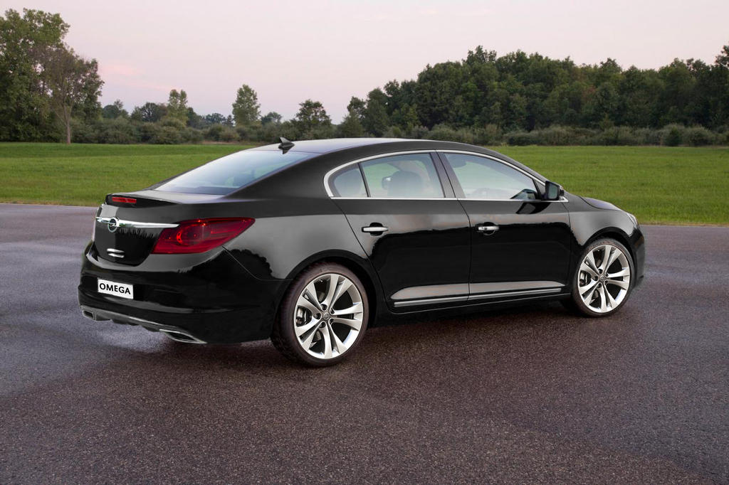 Opel Omega (2014) by A...