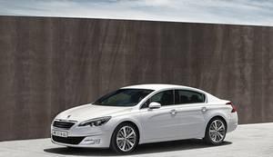 Peugeot 508 facelift 2014