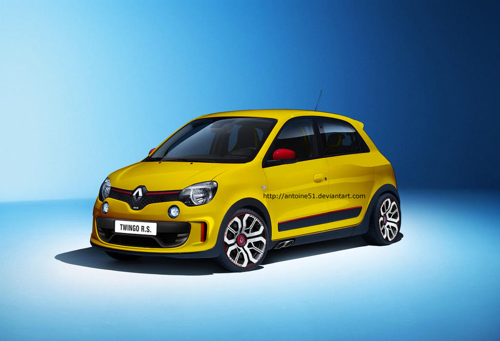 renault twingo 3 rs 2014 by antoine51 on deviantart
