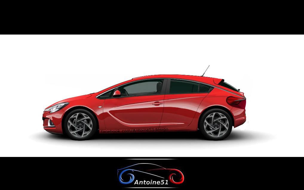 Opel Astra K (2015) by Antoine51