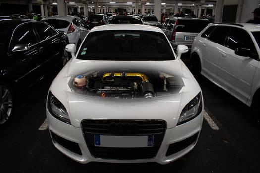 Audi TT motor 1