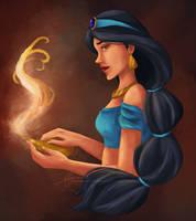 Genie's Lamp by dayngeerous