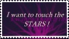 Stamp - I want to touch the stars by Quickie-Stamps