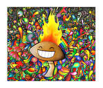 The Shroom is on Fire