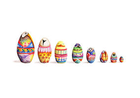 Bird Eggs by Simanion