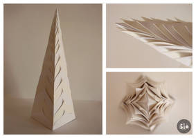 Paper Tower by Simanion