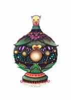 Bird Ornament by Simanion