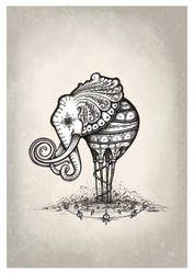 The Elliphant by Simanion
