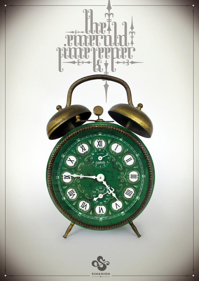The Emerald Time Keeper by Simanion