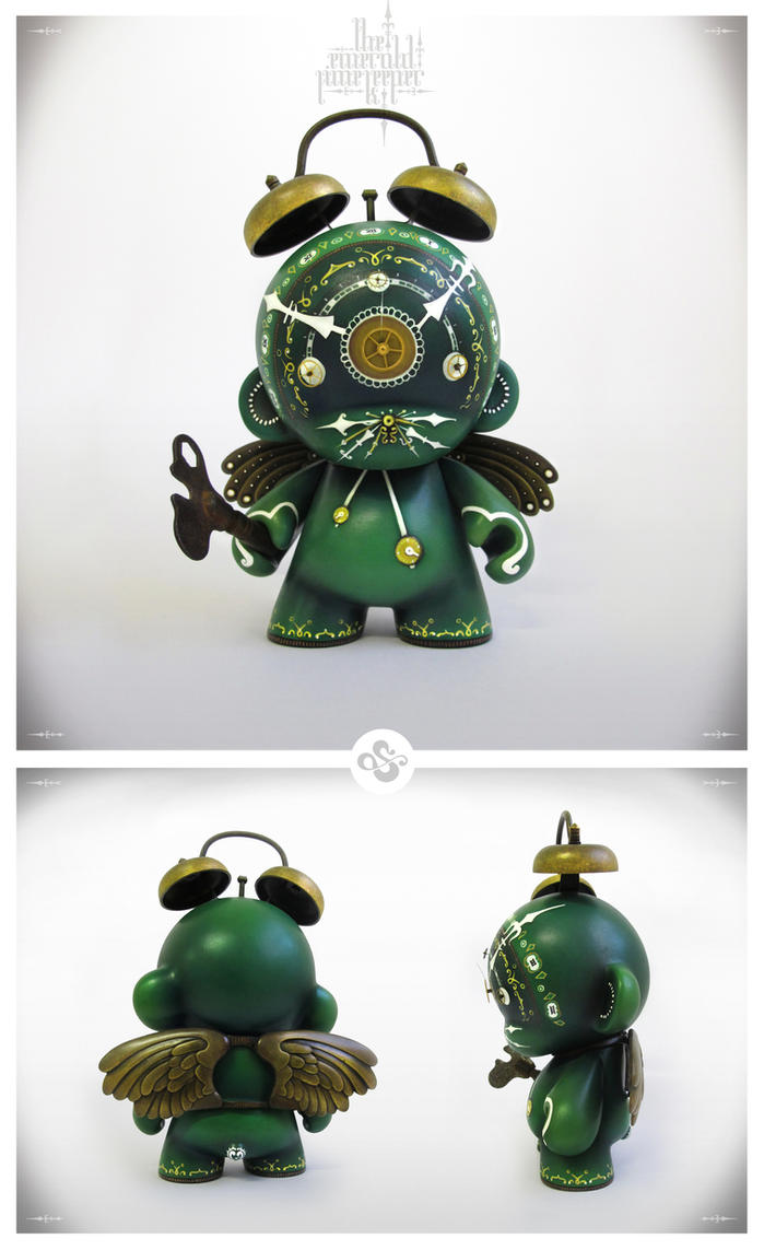 The Emerald Time Keeper Custom Munny By Simanion On