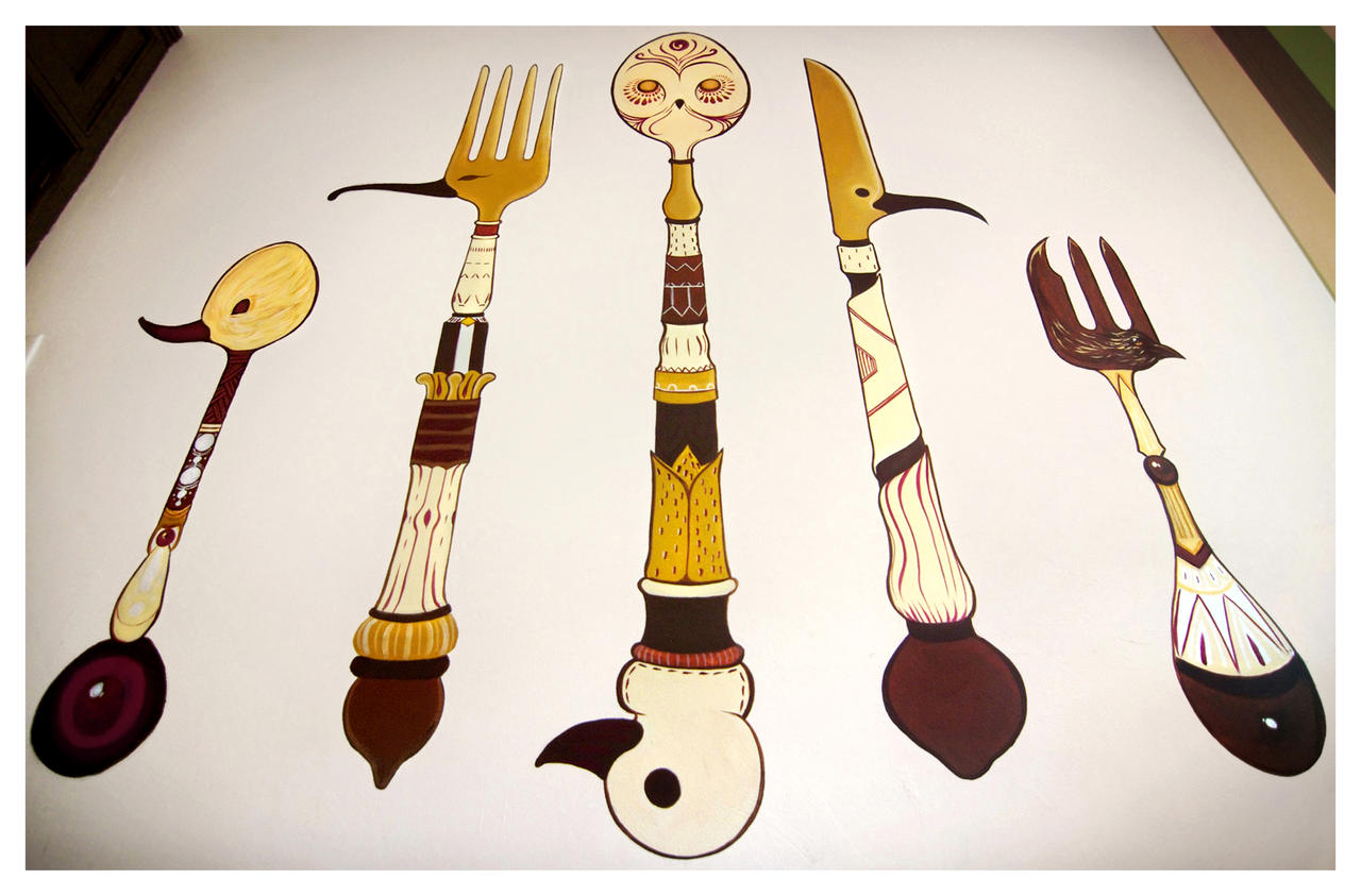 Bird Cutlery by Simanion
