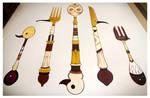 Bird Cutlery